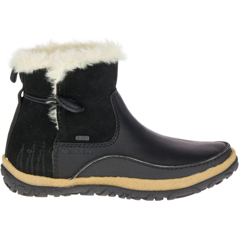 メレル Merrell レディース シューズ・靴 ブーツ【Tremblant Pull-On 200g Waterproof Winter Boots】Black