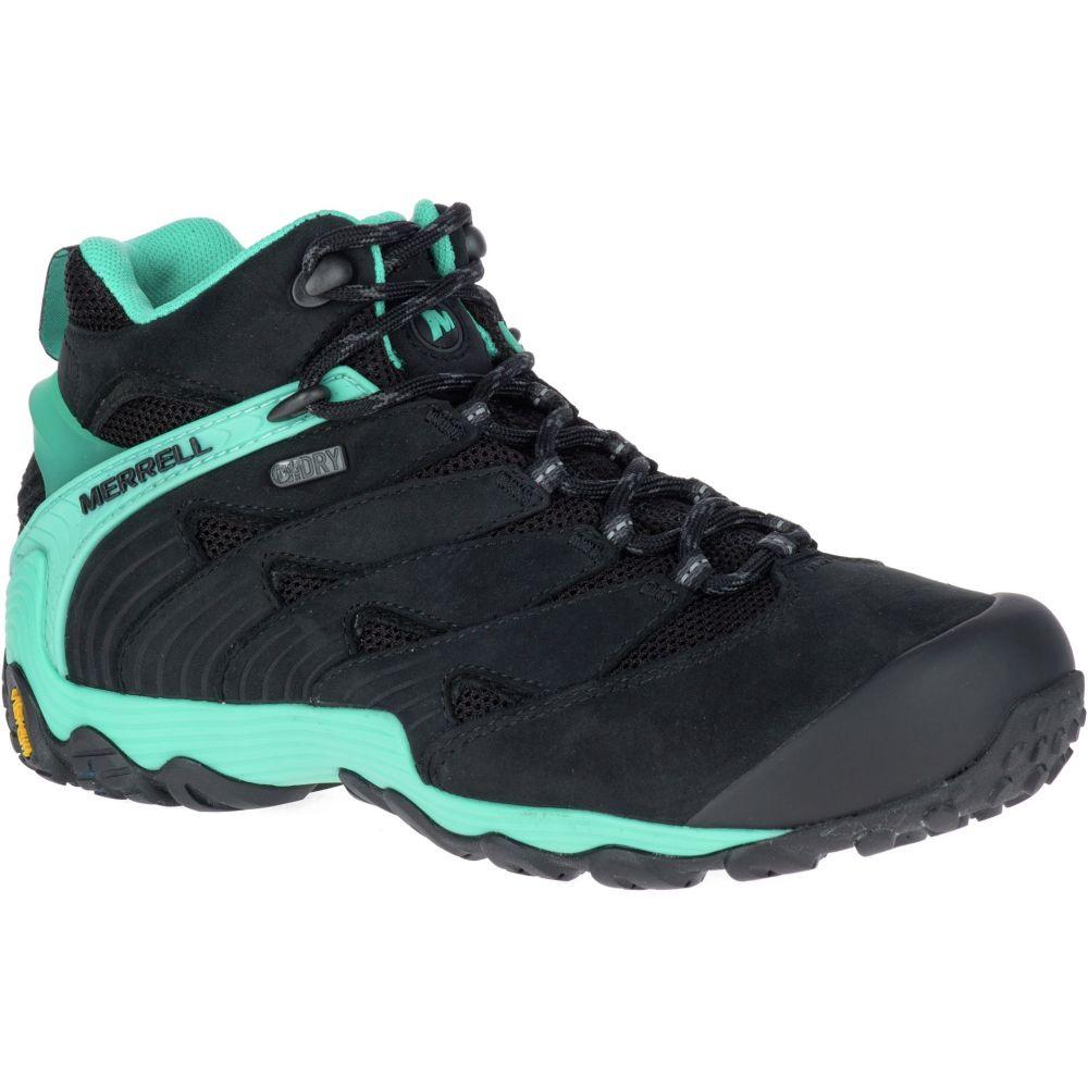 メレル Merrell レディース ハイキング・登山 ブーツ シューズ・靴【chameleon 7 mid waterproof hiking boots】Ice