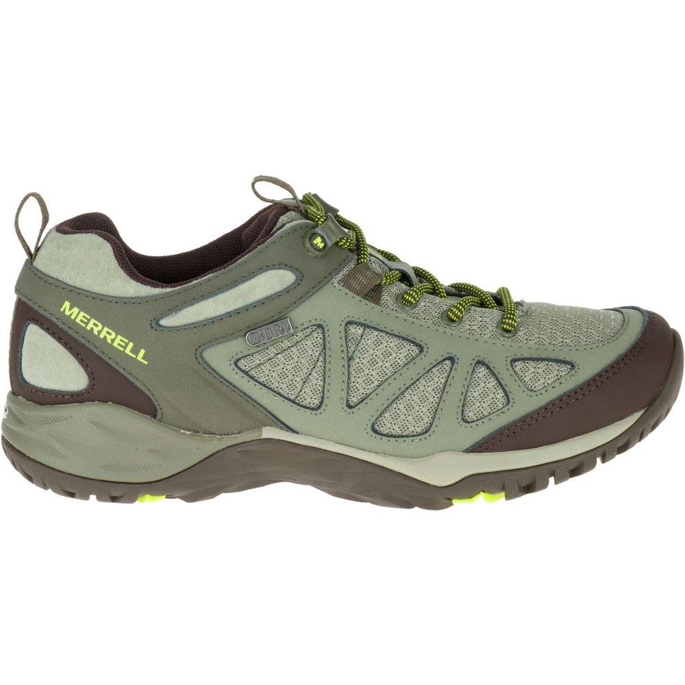 メレル Merrell レディース ハイキング・登山 シューズ・靴【siren sport 2 waterproof hiking shoes】Dusty Olive