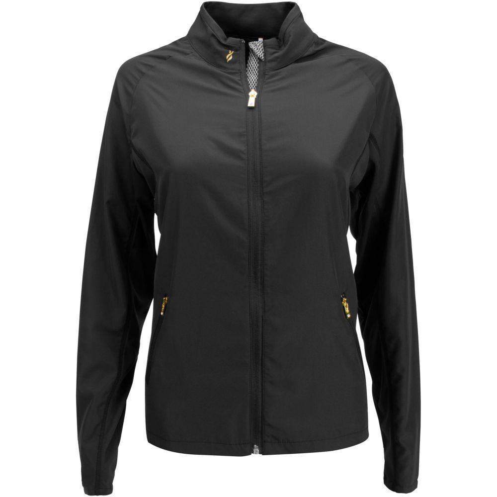 ナンシー ロペス Nancy Lopez Golf レディース ゴルフ ジャケット アウター【nancy lopez compass full-zip golf jacket - extended sizes】Black
