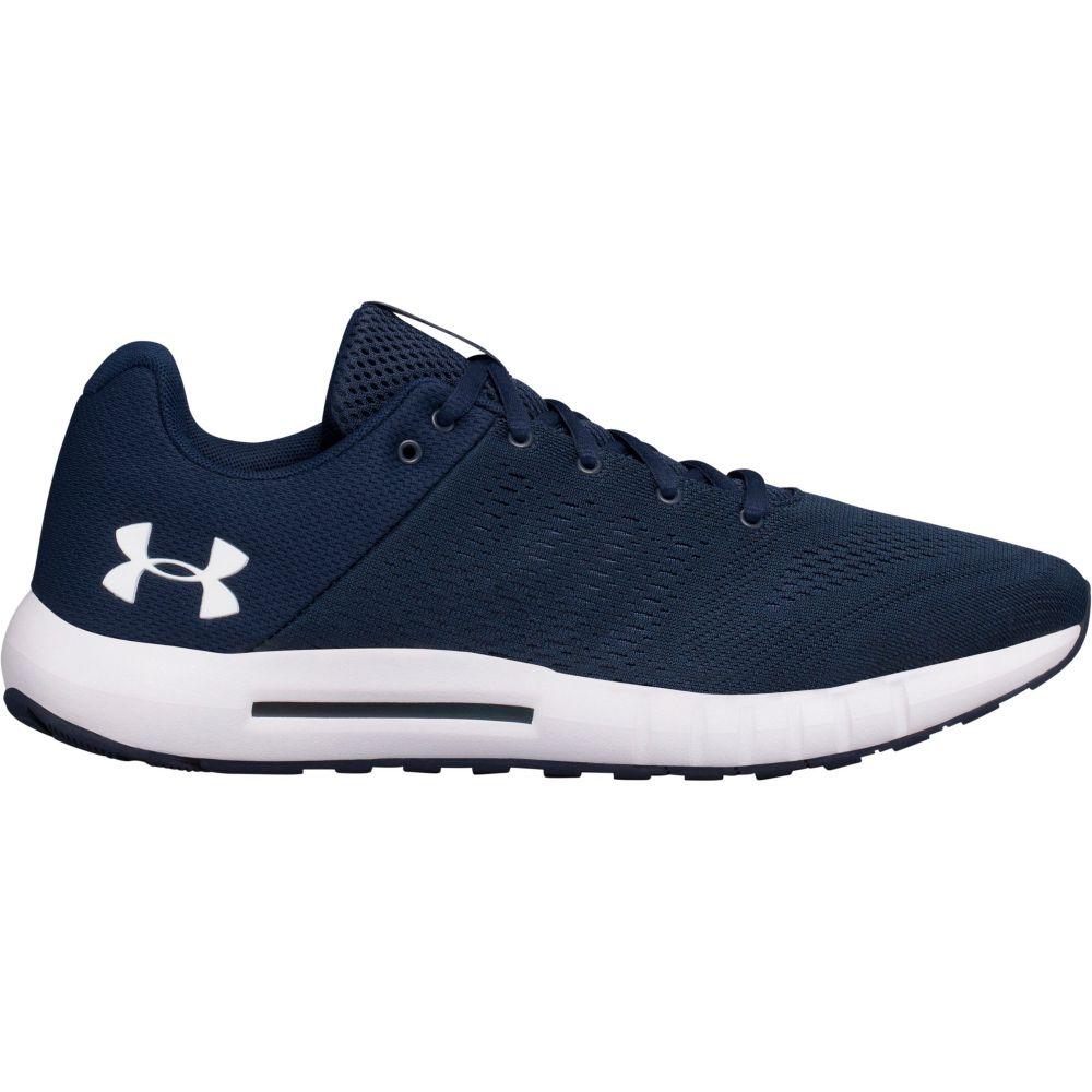 アンダーアーマー Under Armour メンズ ランニング・ウォーキング シューズ・靴【Micro G Pursuit Running Shoes】Academy/Black