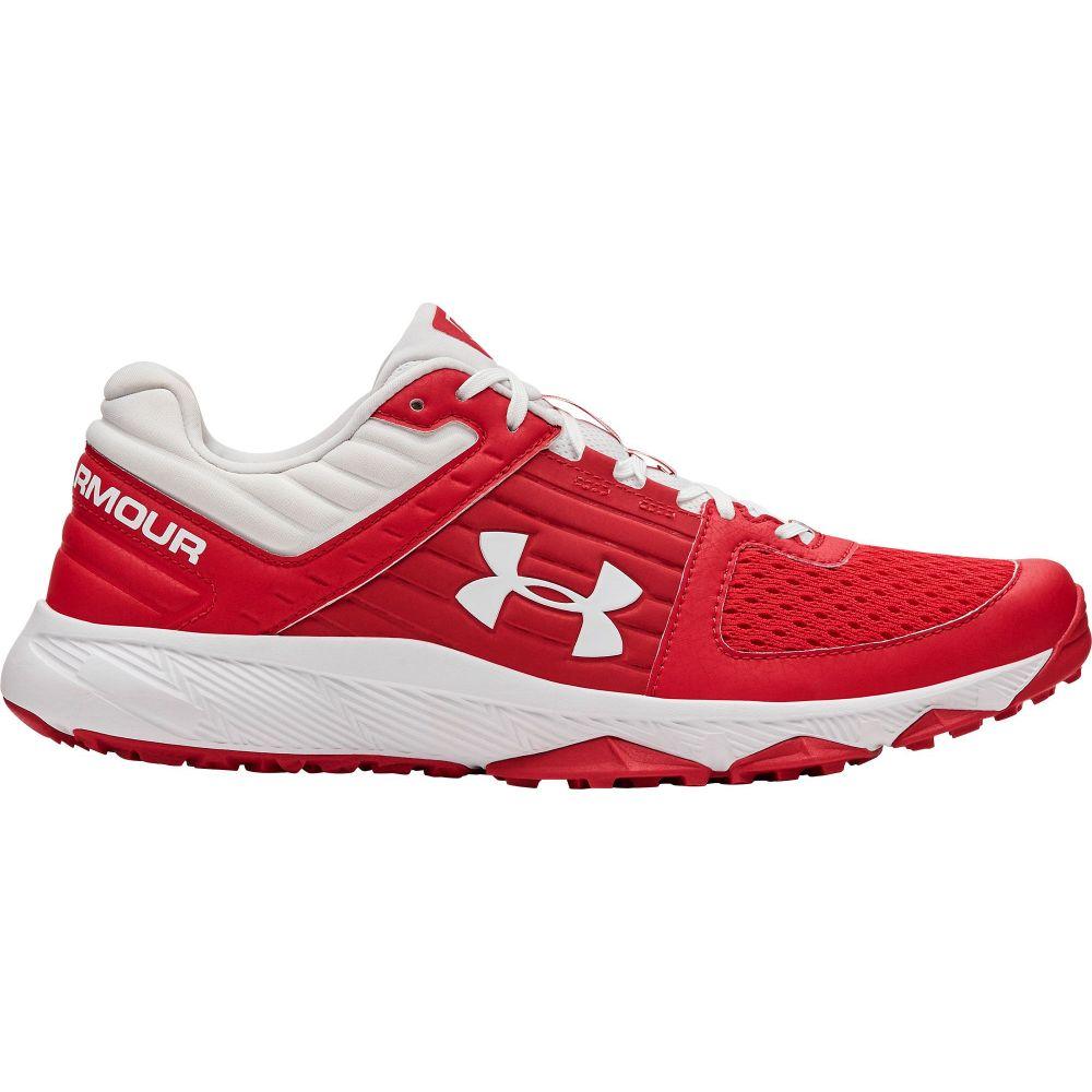アンダーアーマー Under Armour メンズ 野球 シューズ・靴【Yard Baseball Turf Shoes】Red/White