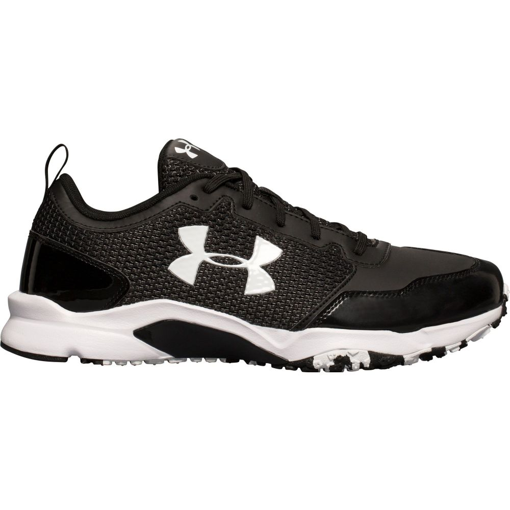 アンダーアーマー Under Armour メンズ 野球 シューズ・靴【Ultimate Baseball Turf Shoes】Black/Black