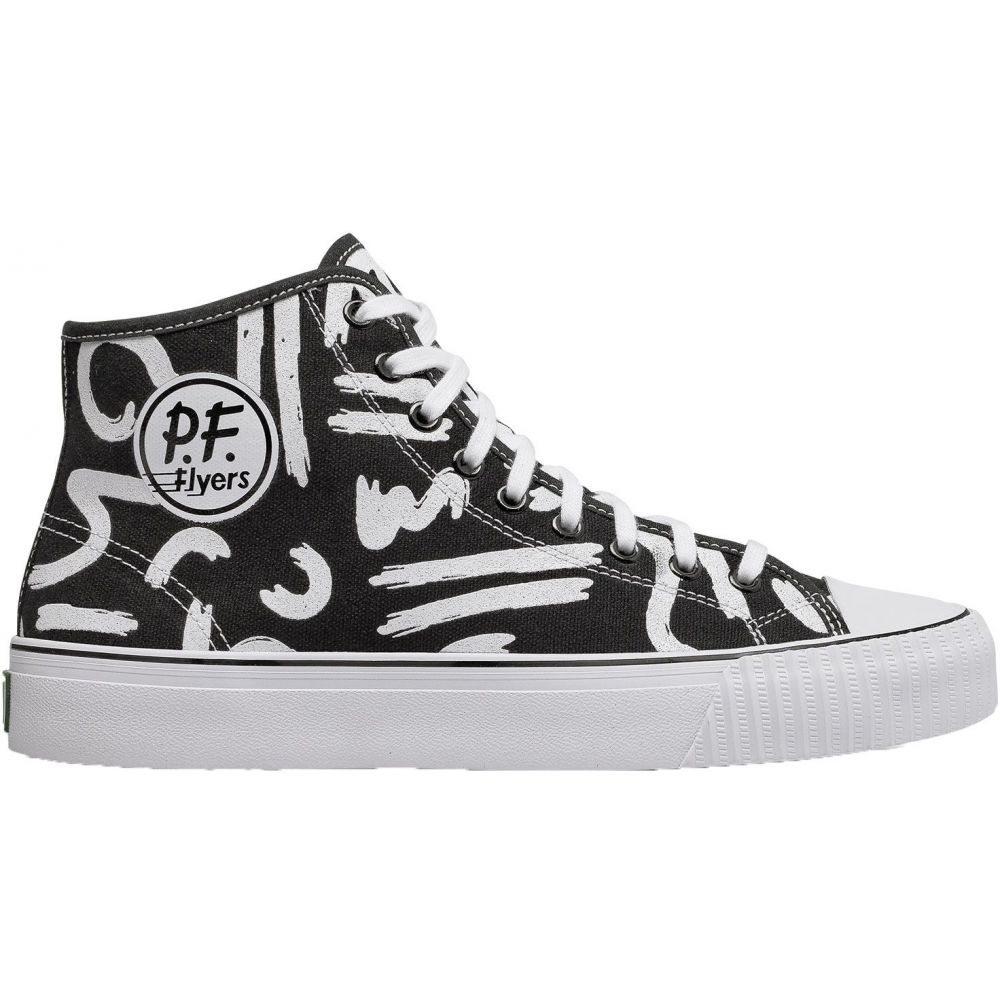 ピーエフフライヤー PF Flyers メンズ シューズ・靴【Center Hi Shoes】White/Black