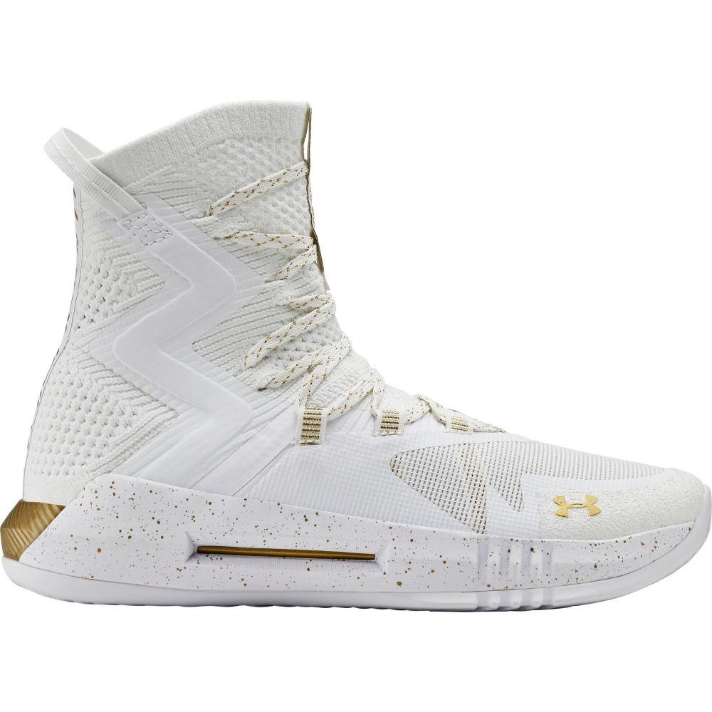 アンダーアーマー Under Armour レディース バレーボール シューズ・靴【highlight ace 2.0 volleyball shoes】White/Gold
