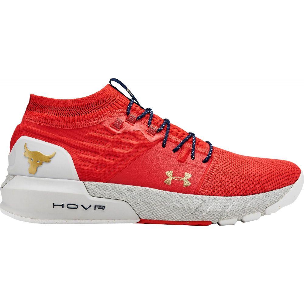 アンダーアーマー Under Armour メンズ フィットネス・トレーニング シューズ・靴【Project Rock 2 Training Shoes】Red/Grey