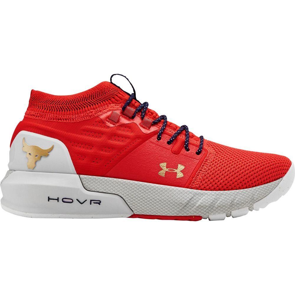 【翌日発送可能】 アンダーアーマー 2 Under Armour レディース Armour フィットネス Training・トレーニング シューズ・靴【Project Rock 2 Training Shoes】Red/Grey/Gold, 奈良大仏 芳月堂:c5238adb --- enduro.pl