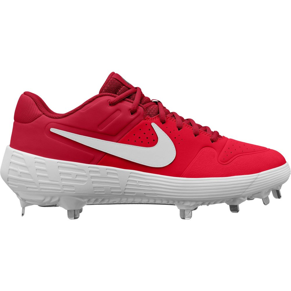 ナイキ Nike メンズ 野球 シューズ・靴【Alpha Huarache Varsity Baseball Cleats】Red/White