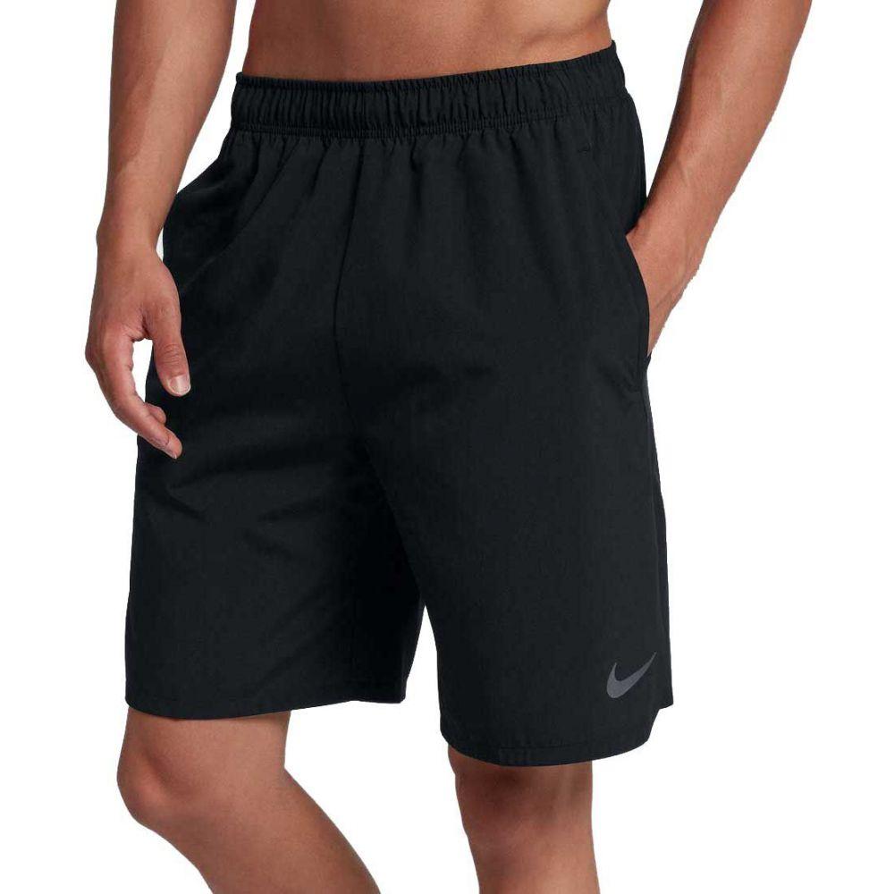 ナイキ Nike メンズ フィットネス・トレーニング ショートパンツ ボトムス・パンツ【8'' flex woven training shorts 2.0】黒/Dark グレー