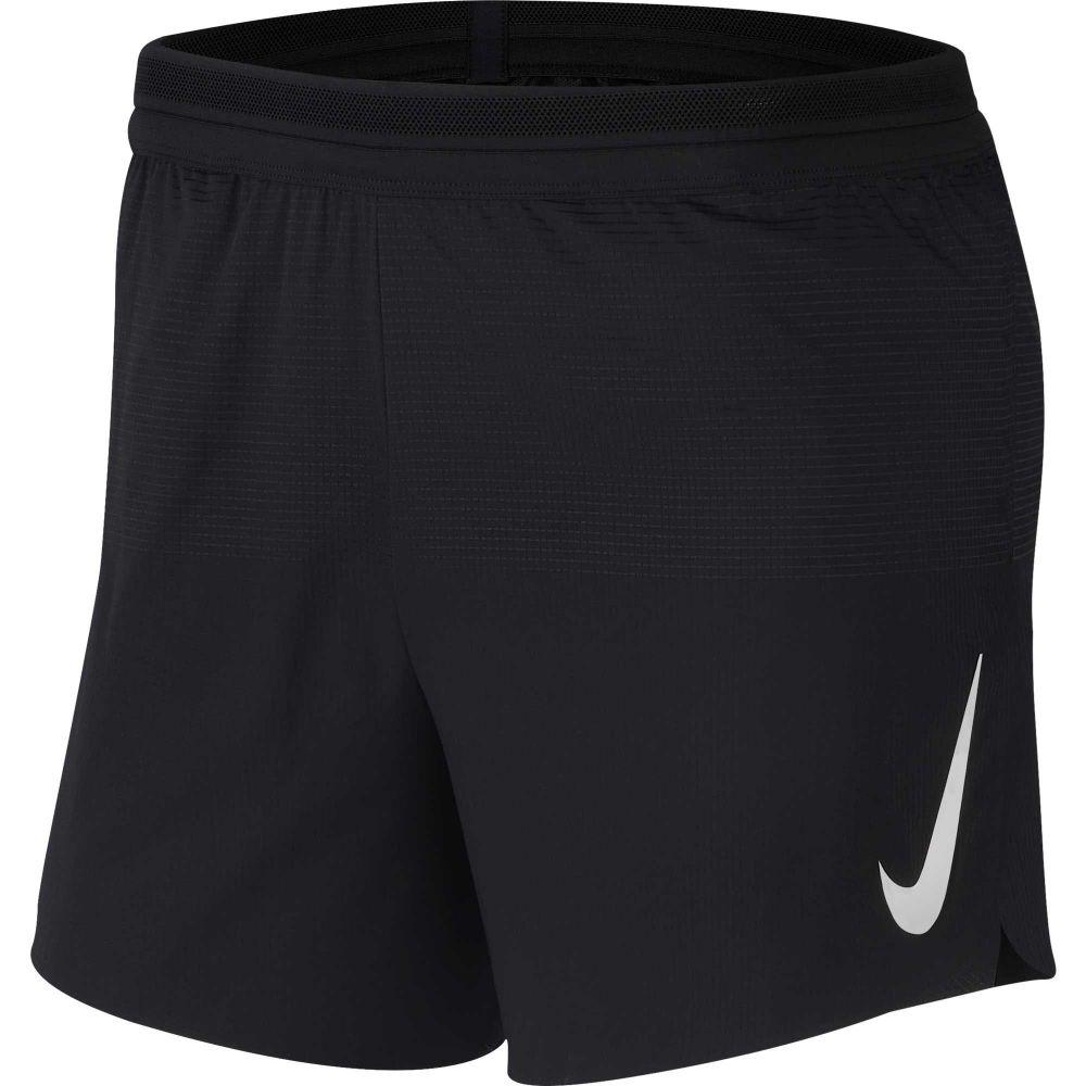 ナイキ Nike メンズ ランニング・ウォーキング ボトムス・パンツ【AeroSwift 5'' Running Shorts】Black/White