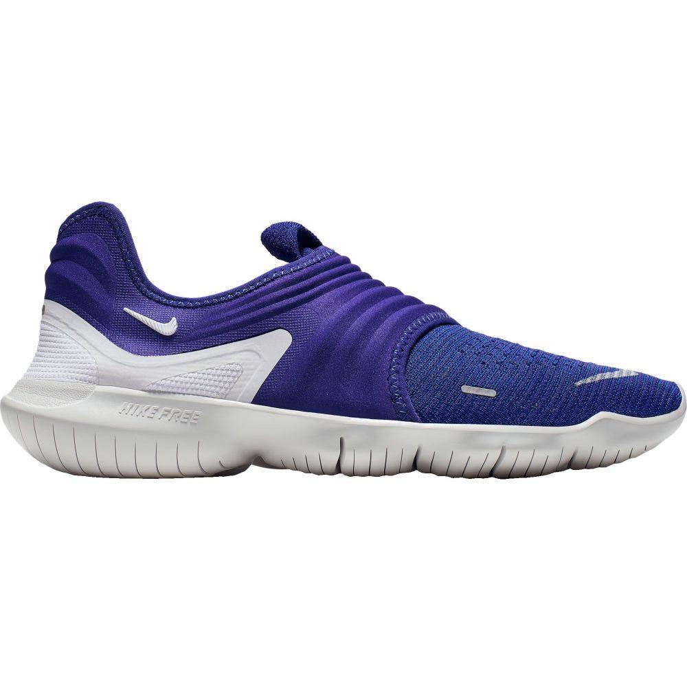 ナイキ Nike メンズ ランニング・ウォーキング シューズ・靴【Free RN Flyknit 3.0 Running Shoes】Deep Royal Blue/White