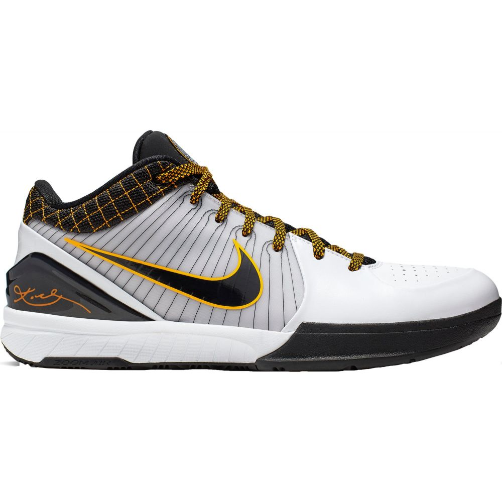 【正規品直輸入】 ナイキ Shoes】Del Nike ナイキ メンズ バスケットボール シューズ IV・靴【Kobe IV Protro Basketball Shoes】Del Sol/Black/White, G-trade JAPAN:8e1eaad3 --- enduro.pl