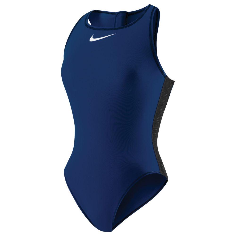 ナイキ Nike レディース ワンピース 水着・ビーチウェア【solid water polo swimsuit】Midnight Navy