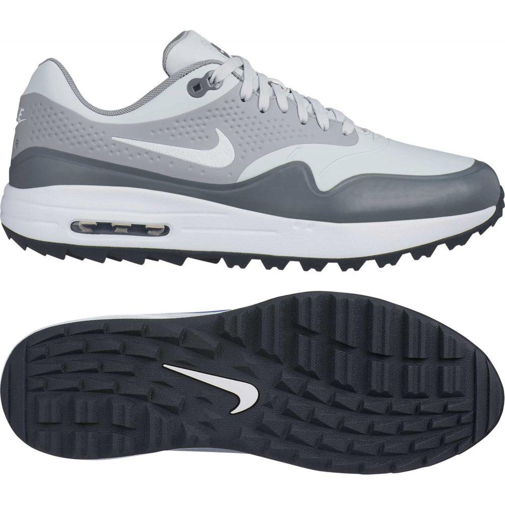 ナイキ Nike G メンズ Golf ゴルフ メンズ シューズ・靴【Air Max 1 G Golf Shoes】Grey/White, 山武町:5c6d9729 --- officewill.xsrv.jp