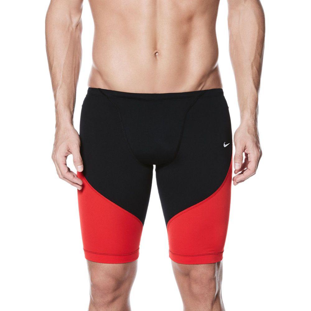 ナイキ Nike メンズ ラッシュガード 水着・ビーチウェア【color surge jammer】University Red