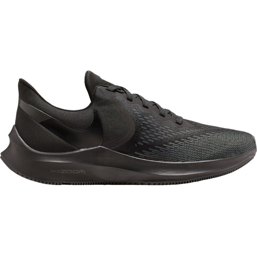 ナイキ Nike メンズ ランニング・ウォーキング シューズ・靴【Zoom Winflo 6 Running Shoes】Black/Black