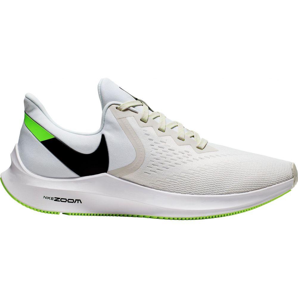 ナイキ Nike メンズ ランニング・ウォーキング シューズ・靴【Zoom Winflo 6 Running Shoes】Black/White/Green