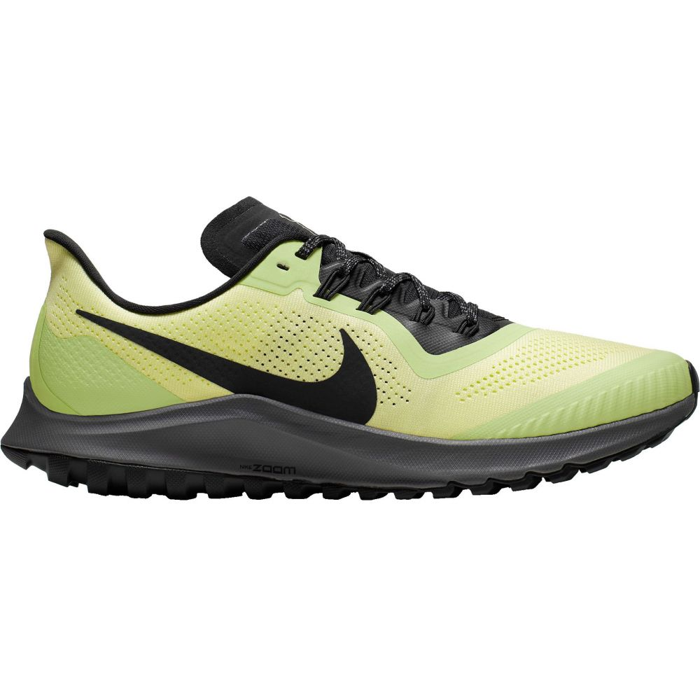 ナイキ Nike メンズ ランニング・ウォーキング シューズ・靴【Air Zoom Pegasus 36 Trail Running Shoes】Lime/Grey
