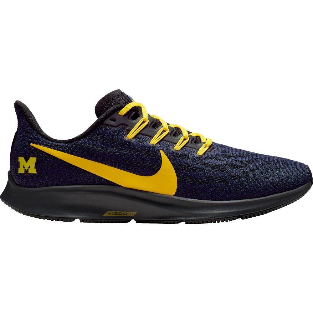 ナイキ Nike メンズ ランニング・ウォーキング シューズ・靴【Michigan Air Zoom Pegasus 36 Running Shoes】Navy/Gold