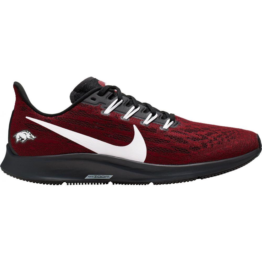 ナイキ Nike メンズ ランニング・ウォーキング シューズ・靴【Arkansas Air Zoom Pegasus 36 Running Shoes】Red/White/Black