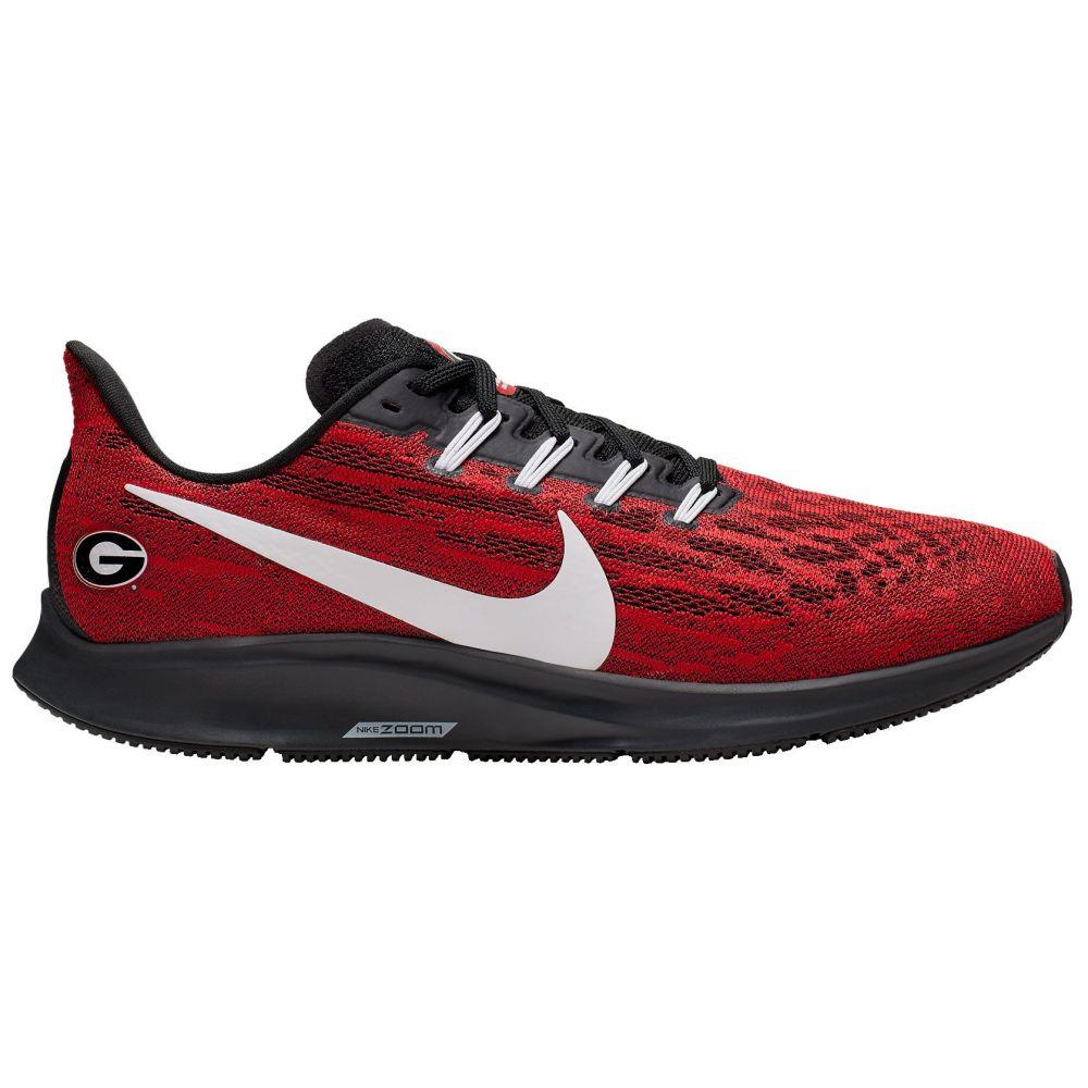 ナイキ Nike メンズ ランニング・ウォーキング シューズ・靴【Georgia Air Zoom Pegasus 36 Running Shoes】Red/White