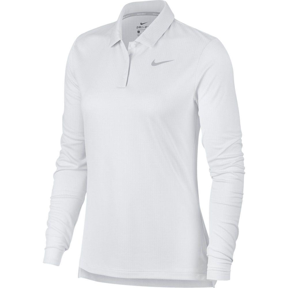 【大特価!!】 ナイキ Nike レディース ゴルフ Nike トップス【Dry Long ナイキ Sleeve Polo】White Core Golf Polo】White, 五條市:eda19e99 --- enduro.pl