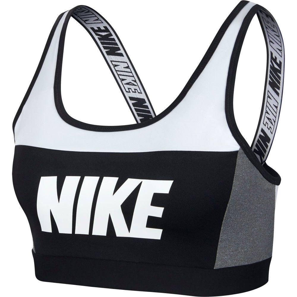 ナイキ Nike レディース インナー・下着 スポーツブラ【Distort Classic Medium Support Sports Bra】White/Carbon Heather