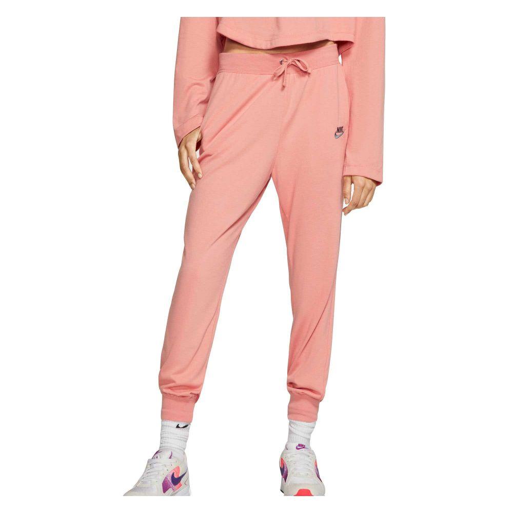 ナイキ Nike レディース ボトムス・パンツ 【sportswear jersey pants】Pink Quartz