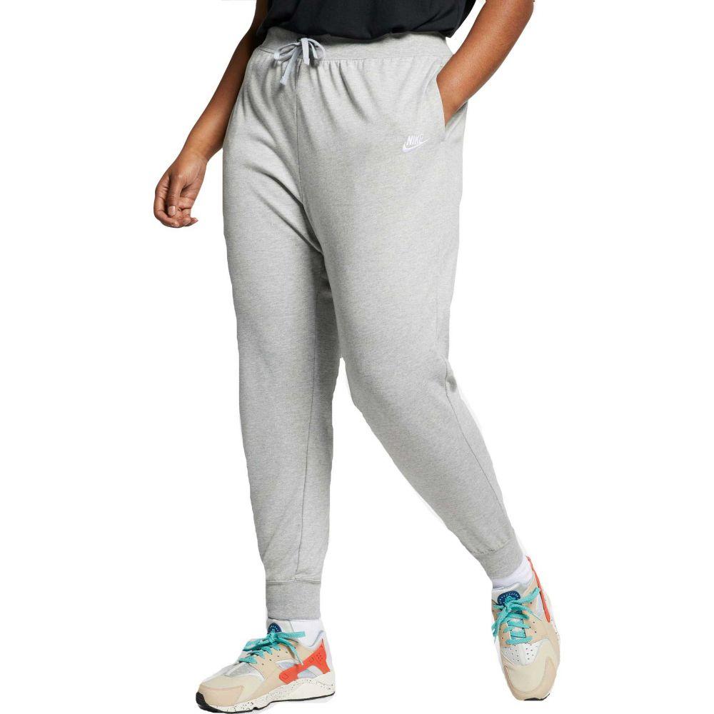 ナイキ Nike レディース ボトムス・パンツ 大きいサイズ【plus size sportswear jersey pants】Dk Grey Heather