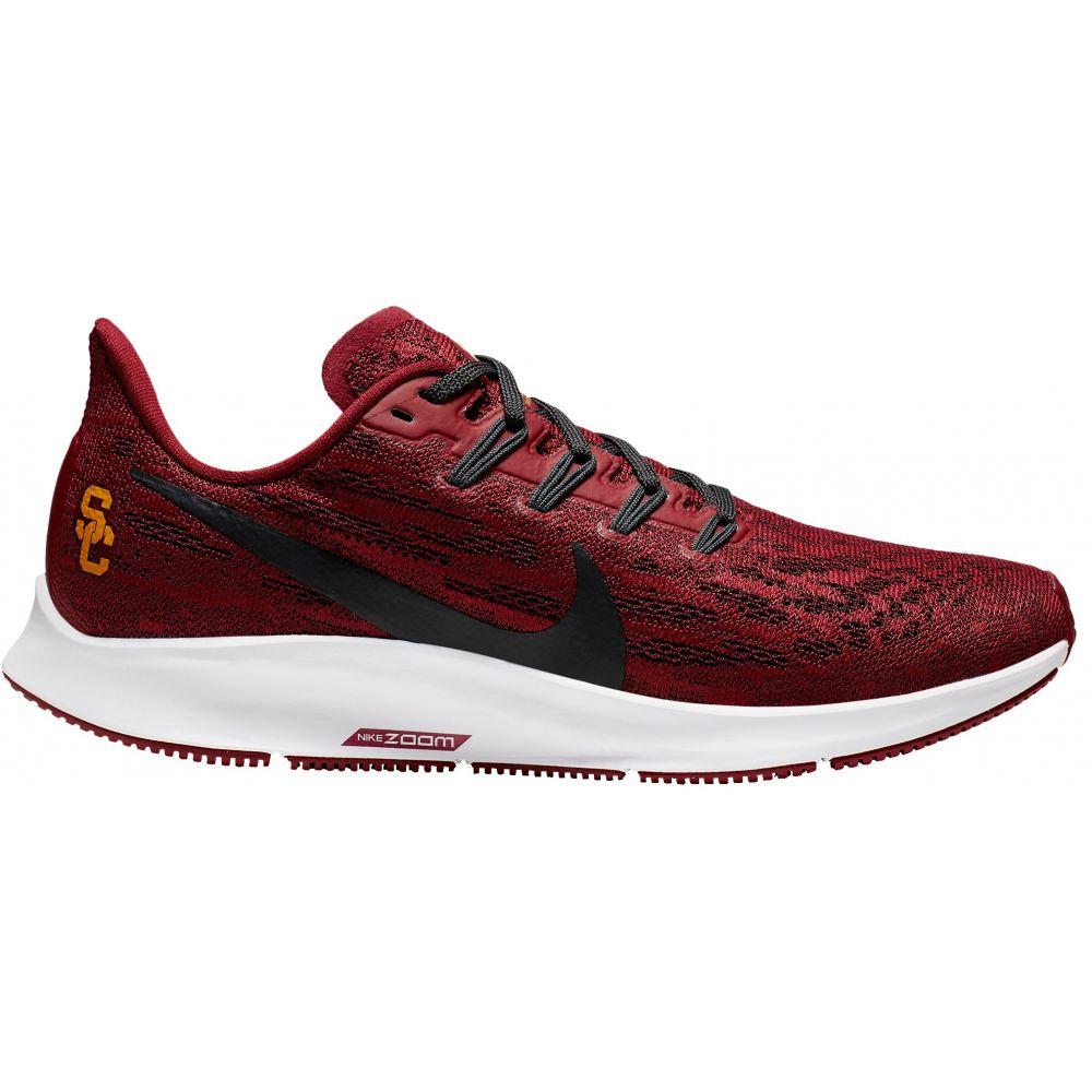ナイキ Nike レディース ランニング・ウォーキング シューズ・靴【usc air zoom pegasus 36 running shoes】Team Crimson/Cool グレー