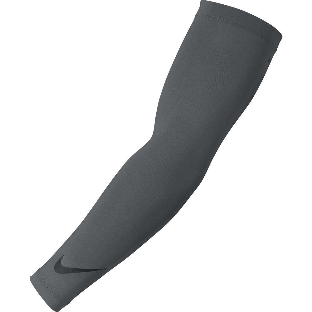 ナイキ Nike ユニセックス フィットネス・トレーニング サポーター【Dri-FIT Solar Arm Sleeves】Dark Grey/Black