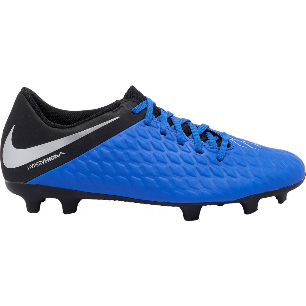 ナイキ Nike レディース サッカー シューズ・靴【Hypervenom Phantom 3 Club FG Soccer Cleats】Blue/Silver