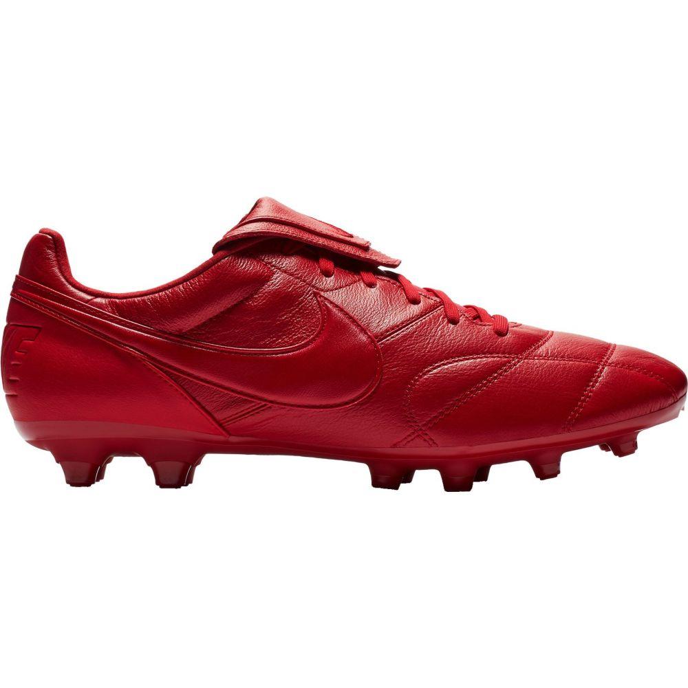 ナイキ Nike レディース サッカー シューズ・靴【Premier II FG Soccer Cleats】Red/Red