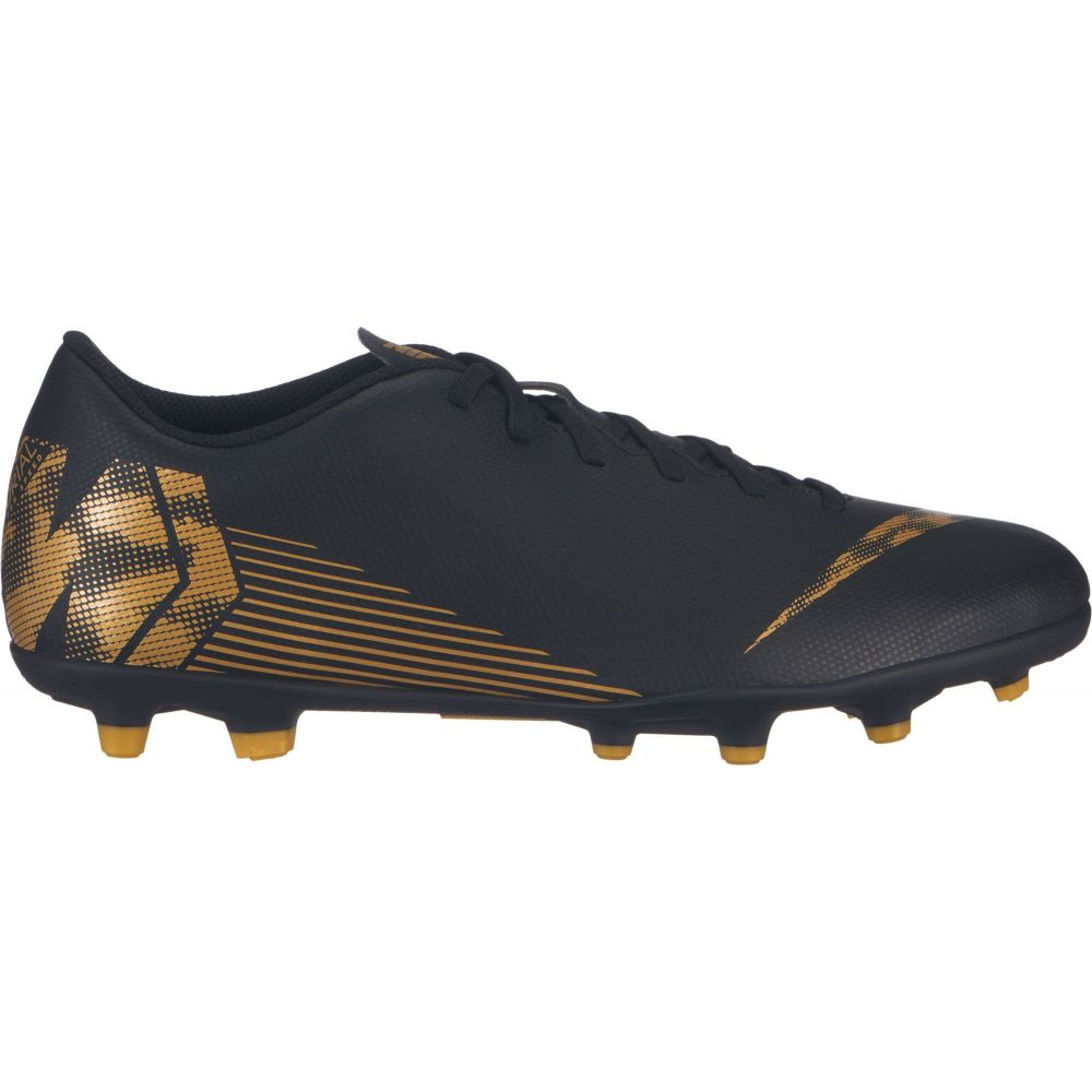 ナイキ Nike レディース サッカー シューズ・靴【Mercurial Vapor 12 Club MG Soccer Cleats】Black/Gold