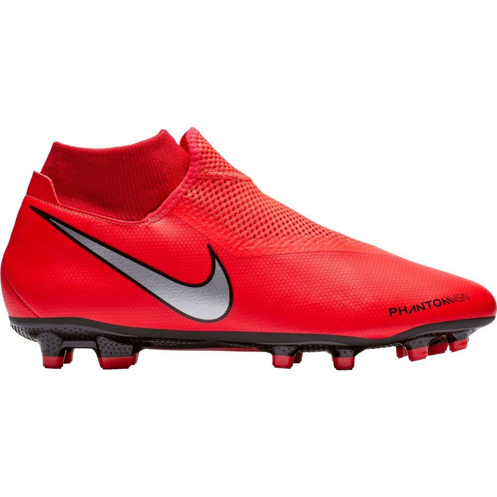 ナイキ Nike レディース サッカー シューズ・靴【Phantom Vision Academy Dynamic Fit MG Soccer Cleats】Red/Black