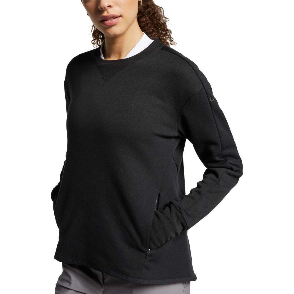 ナイキ Nike レディース ゴルフ トップス【dri-fit long sleeve golf top】Black/Black