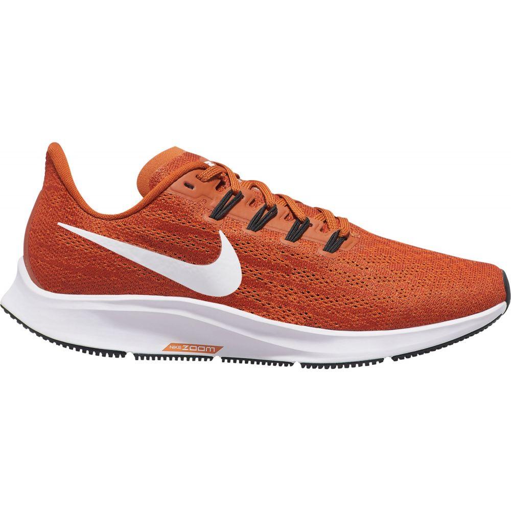 ナイキ Nike レディース ランニング・ウォーキング シューズ・靴【air zoom pegasus 36 running shoes】オレンジ/白い