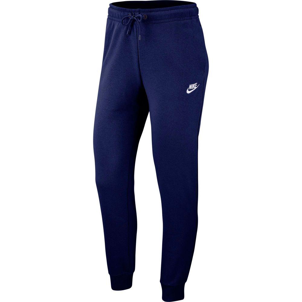 ナイキ Nike レディース ボトムス・パンツ 【sportswear essential fleece pants】Blue Void
