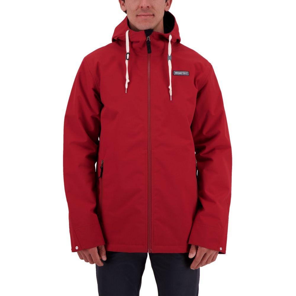 オバマイヤー Obermeyer メンズ ジャケット シェルジャケット アウター【no 4 shell jacket】Dragon Red