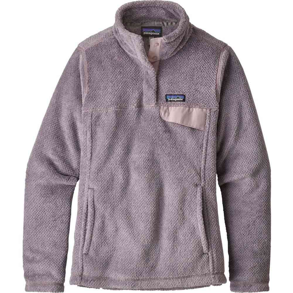 パタゴニア Patagonia レディース トップス フリース【Re-Tool Snap-T Fleece Pullover】Smoke Vlt/Glaze Purp Xdye