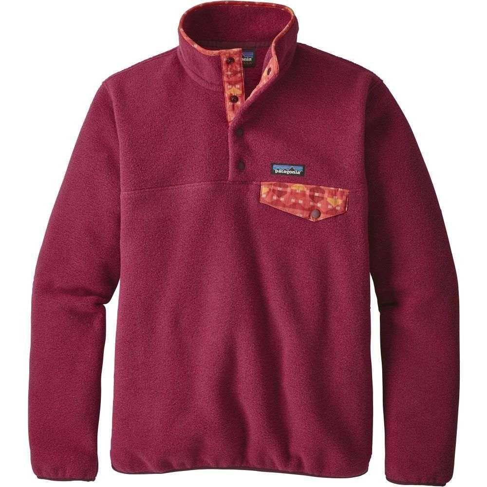 パタゴニア Patagonia レディース トップス フリース【Synchilla Snap-T Fleece Pullover】Arrow Red