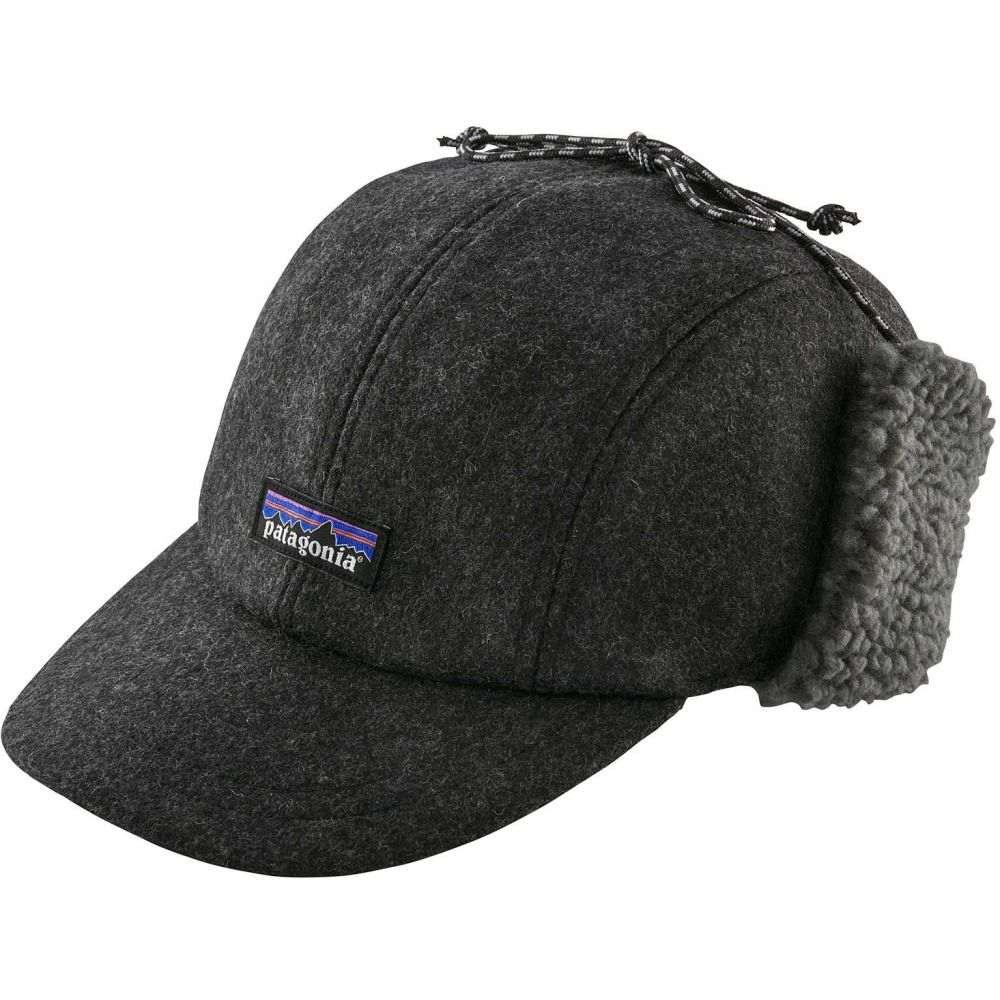 パタゴニア メンズ 帽子 その他帽子 【サイズ交換無料】 パタゴニア Patagonia メンズ 帽子 【recycled wool ear flap cap】Forge Grey