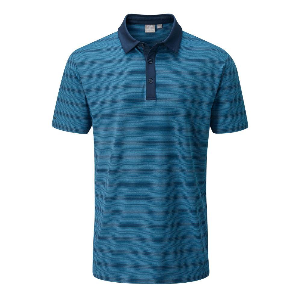 送料無料 ピング PING メンズ ゴルフ トップス【Eugene Golf メンズ Polo Polo】Navy】Navy Golf Multi, marumoshirt:20d324b6 --- enduro.pl