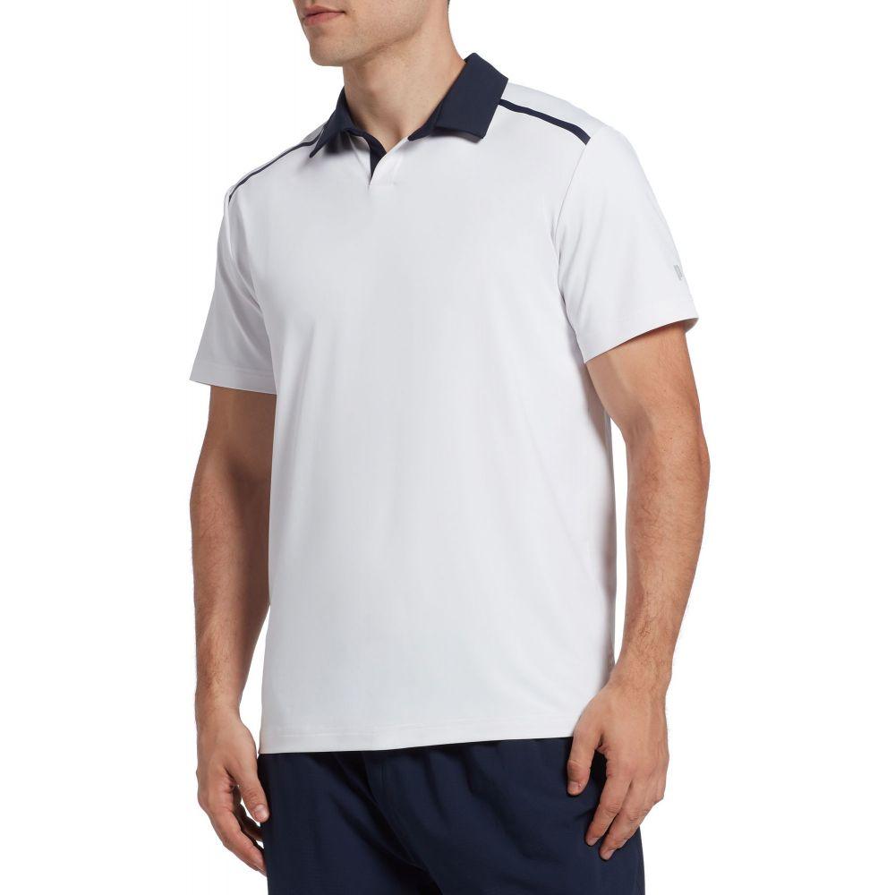 プリンス Prince メンズ テニス トップス【Johnny Collar Bonded Tennis Polo】White