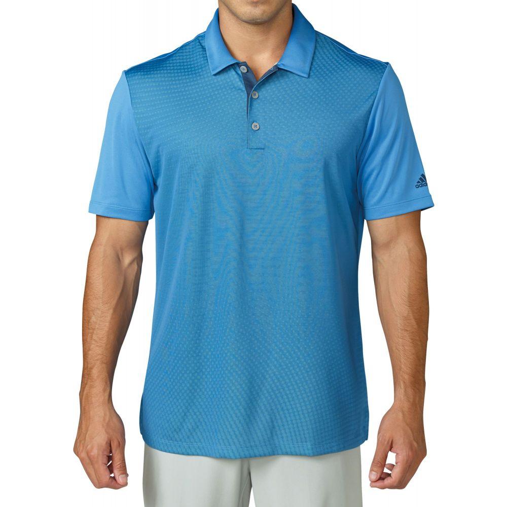 専門ショップ アディダス メンズ adidas メンズ ゴルフ トップス Blue【climacool Gradient Golf Gradient Polo】Ray Blue, お米専門店 とよみや:1c90e53f --- enduro.pl