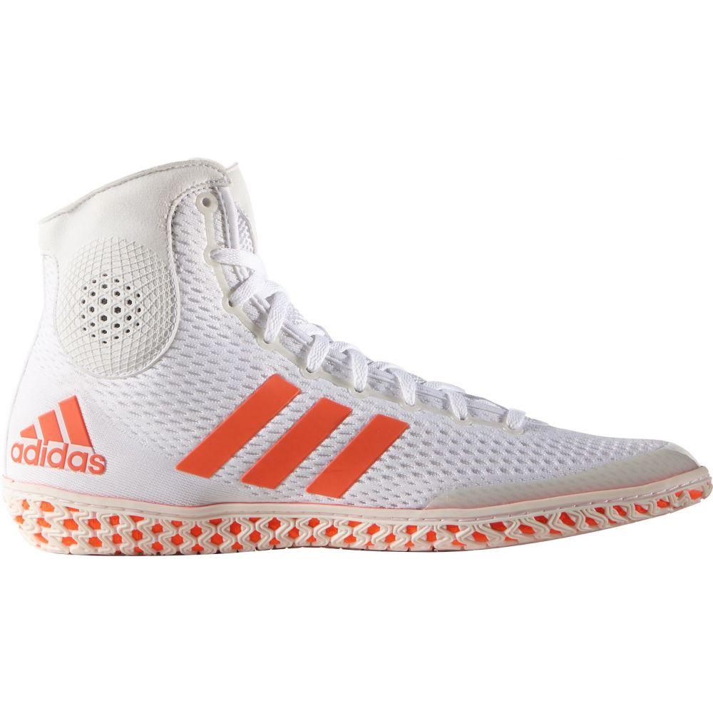アディダス adidas メンズ レスリング シューズ・靴【tech fall wrestling shoes】White/Red