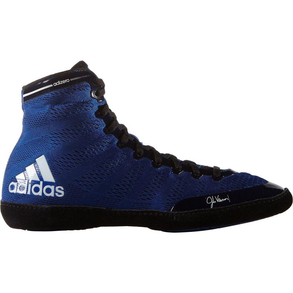 アディダス adidas メンズ レスリング シューズ・靴【adizero varner wrestling shoes】Royal/Black