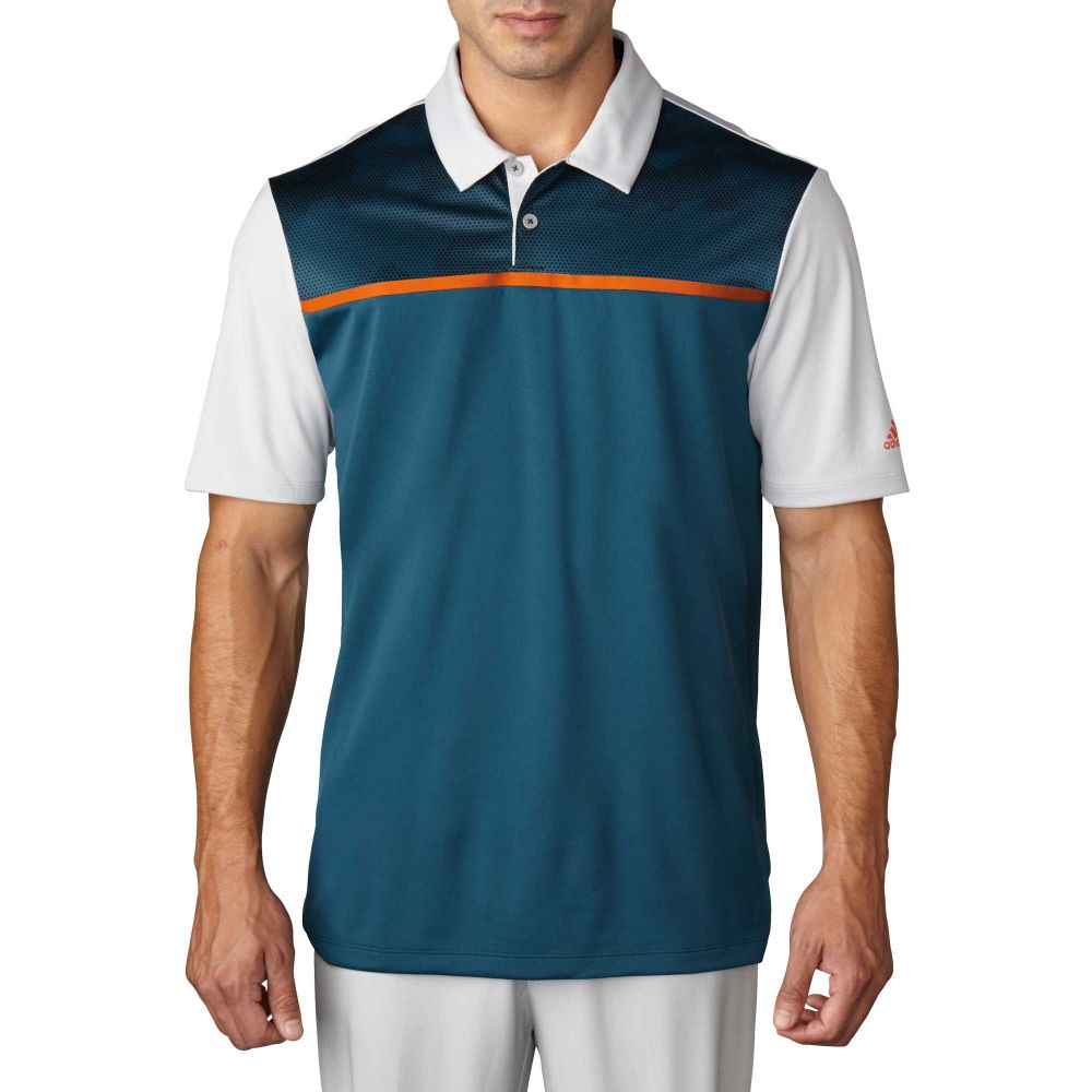 【別倉庫からの配送】 アディダス adidas Green メンズ ゴルフ トップス Print【climacool Blocked Print Golf Blocked Polo】Utility Green, ジョウジママチ:4719eaa8 --- enduro.pl
