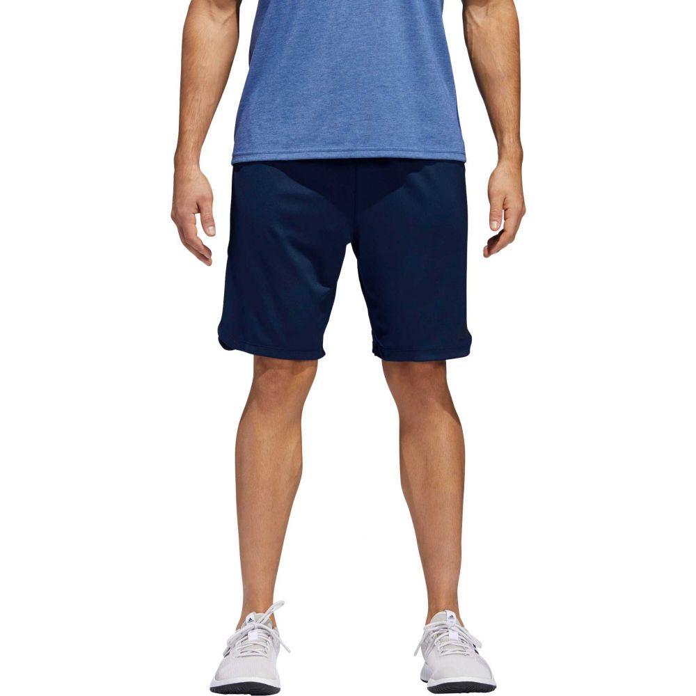 アディダス adidas メンズ フィットネス・トレーニング ボトムス・パンツ【Axis Knit Training Shorts】Collegiate Navy