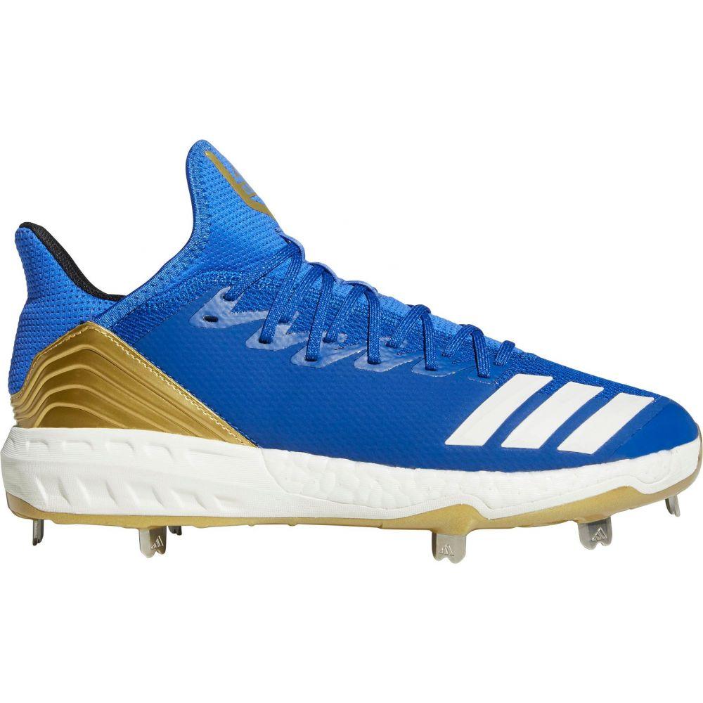 アディダス adidas メンズ 野球 シューズ・靴【Icon 4 Metal Baseball Cleats】Blue/Gold
